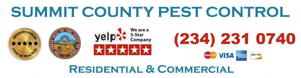 Summit County, Ohio Pest Control